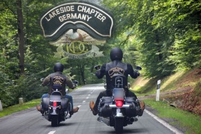 Auf Tour: Das HOG-Lakeside-Chapter hat den Beinamen Germany, weil es auch ein HOG-Lakeside-Chapter in England gibt.