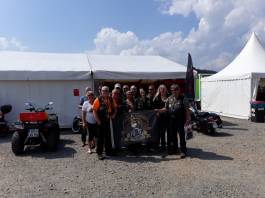 Beim Harley-Meeting in Willingen.